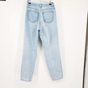 VTG Lands End lightwash mom jeans